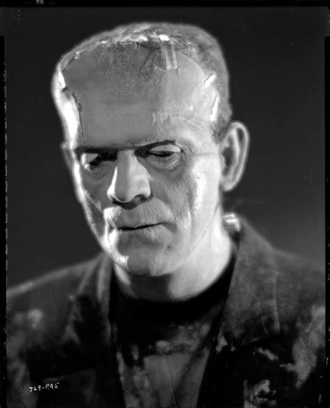 The Diary Of V Frankenstein boris karloff negative from of frankenstein