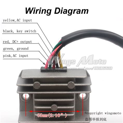 atv voltage regulator wiring diagram wiring diagram with