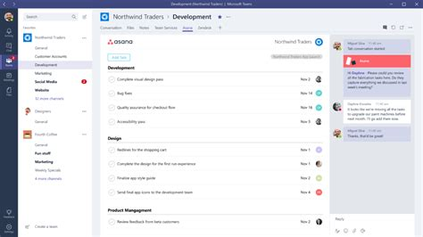asana announces microsoft teams partner integration