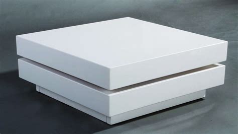 square white high gloss coffee table homegenies