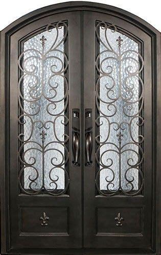 Fleur De Lis Wrought Iron Front Entry Double Door Fleur De Lis Front Door