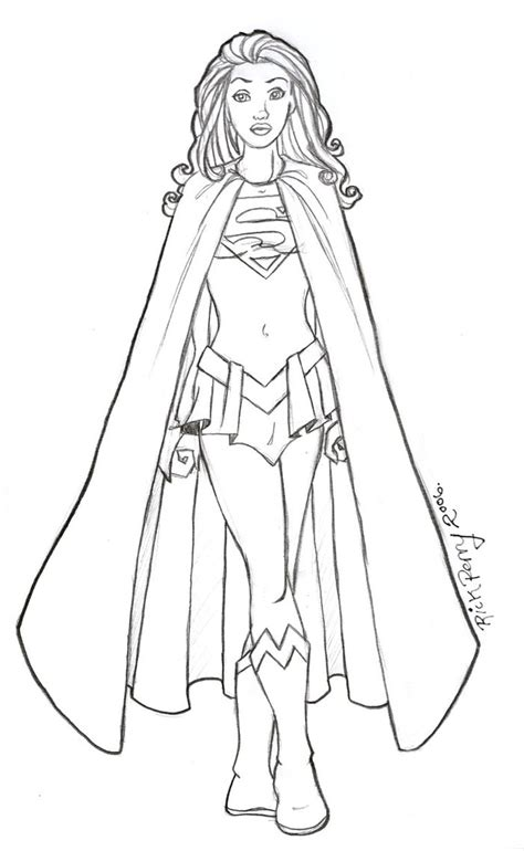supergirl coloring pages supergirl coloring pages to download and print for free