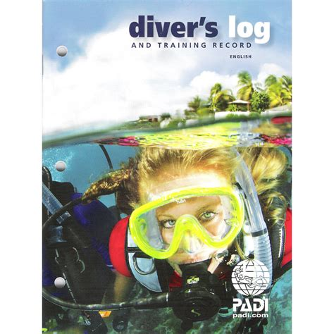 aquahans scuba log book books padi diver s log book and record the scuba