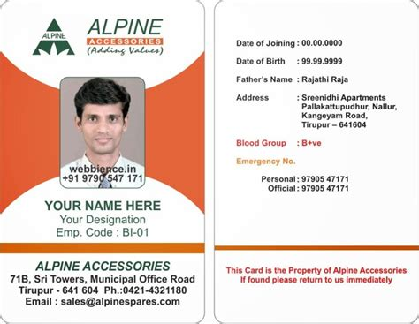 free printable id cards online free printable child id card template infocard co