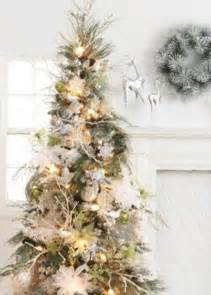 tree silver white:  exciting silver and white christmas tree decorations digsdigs