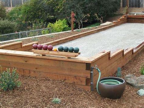 backyard bocce ball court best 20 bocce court ideas on pinterest bocce ball court contemporary backyard play