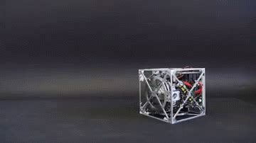 Balance Cube cubli an amazing smart cube that can jump up balance and walk on a corner the tech journal