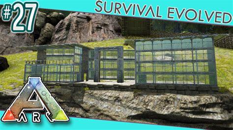 modern house plans designs and ideas the ark ark survival evolved modern house build s3e27 youtube