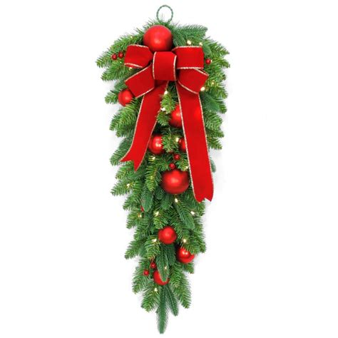 national tree company 32 in battery operated mixed fir