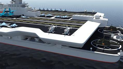 china developing 180 000 ton catamaran aircraft carrier - Catamaran Aircraft Carrier