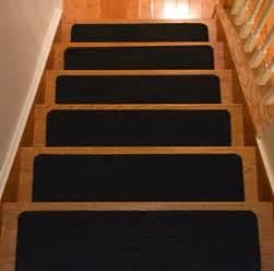 Carpet Stair Treads Non Slip by Wooden Stair Treads Indoor Skid Resistant Non Slip Carpet
