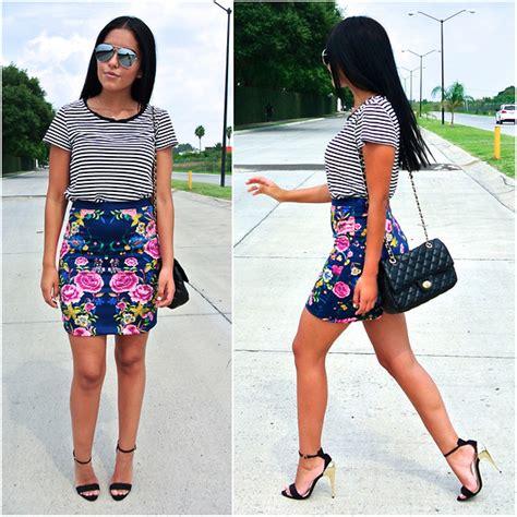 Gap Striped Pencil Skirt fernanda flores gap stripes shirt zara pencil skirt
