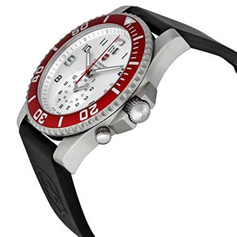Swiss Army 701 Dual Time For victorinox swiss army s 241177 maverick ii dual time silver w realwatches