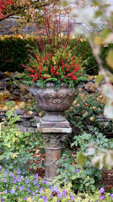 Winter Container Garden by 17 Best Ideas About Winter Container Gardening On