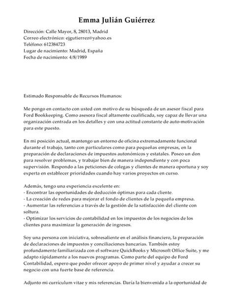 presentacion declaracion mensuales servicios profesionales 2016 modelo de carta de presentaci 243 n gestor de impuestos