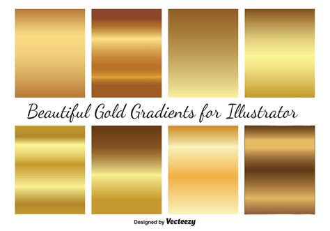 illustrator tutorial gold gold vector gradients download free vector art stock