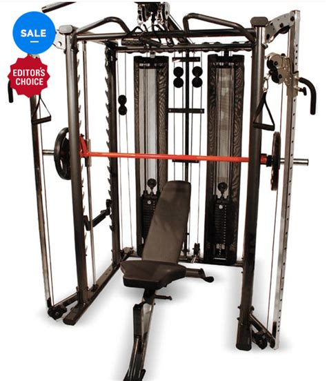 inspire fitness ft2 functional trainer and smith gyms are