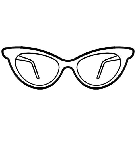 eyeglasses coloring pages eyeglasses coloring pages simple design grig3 org