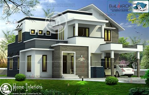 double floor modern style home design 2015 2422 sq ft double floor contemporary home design home