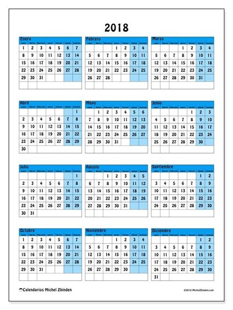 Calendario De 2018 Pdf Best 25 Calendario 2018 Ideas On Calendario
