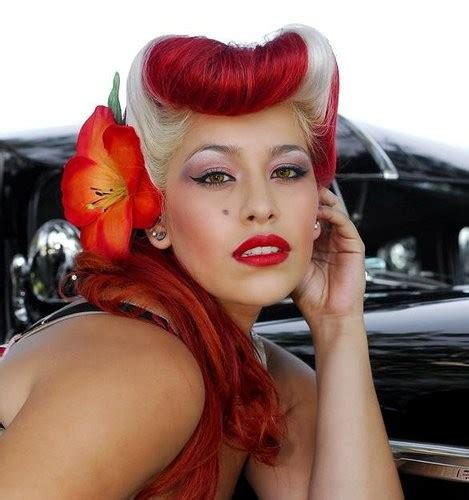 blackstyles pinup rockabilly hairstyles rockabelle bombshell