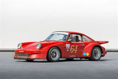 Race Car For Sale 1973 Porsche 911 Imsa Racecar Retro