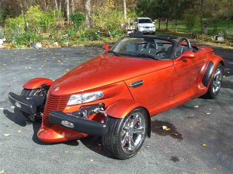 chrysler prowler chrysler prowler for sale on classiccars com 15