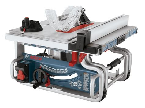bosch jobsite saw review review bosch gts1031 portable saw 10 quot