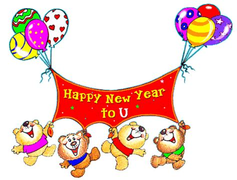 happy new year animated greeting cards coloring
