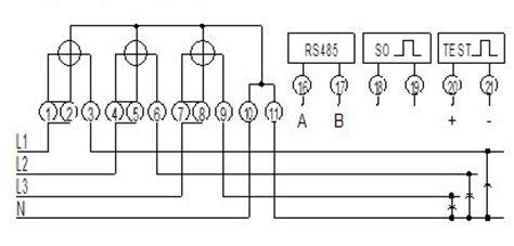 kilowatt hour meter wiring diagram 34 wiring diagram