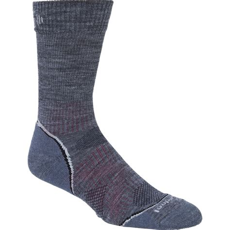 Smartwool Phd Outdoor Light Crew Sock Smartwool Mens Phd Outdoor Light Crew Sock Medium