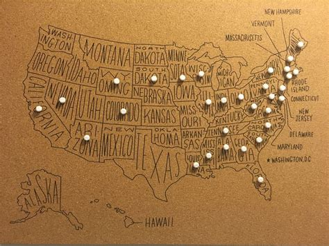 us map on cork board 17 best ideas about united states map on map