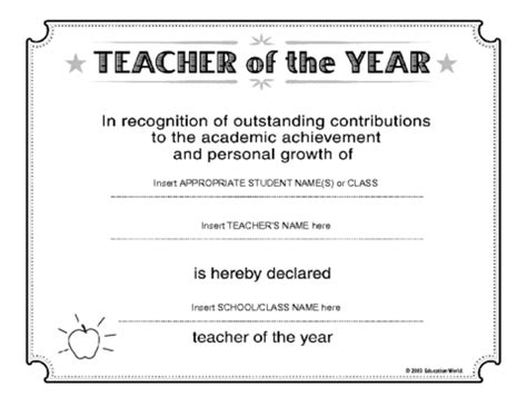 imgs for gt best teacher ever certificate