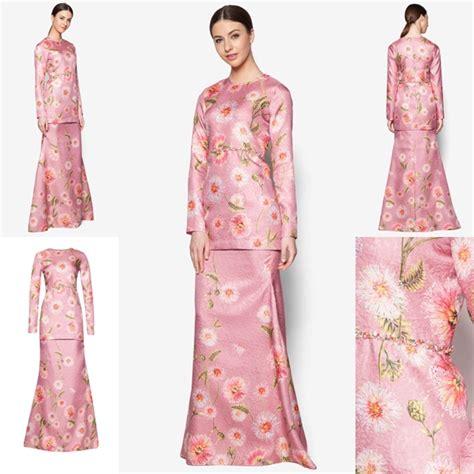 design baju raya 2017 fesyen trend terkini bianco mimosa prisma baju kurung