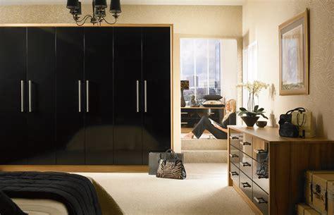 black bedroom cupboards premier duleek wardrobe doors in high gloss black by homestyle