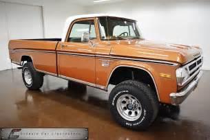 Dodge Wagon 1971 Dodge Power Wagon Truck Suv Ebay