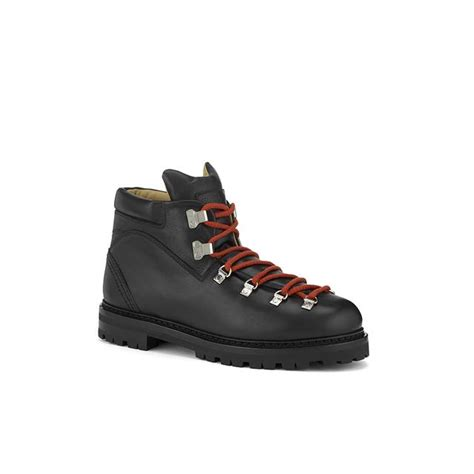 kermann s black leather hiking boot endource