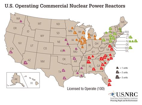map of nuclear power plants in the usa how many nuclear power plants are there in the united states