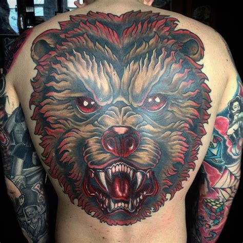 bear tattoo designs for men 31 designs ideas design trends premium