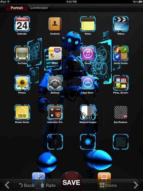 pimp  screen  ipad wallpapers app ive