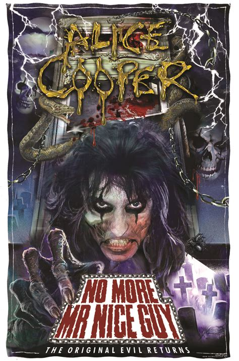 alice cooper mr nice guy livewire alice cooper no more mr nice guy live tour review