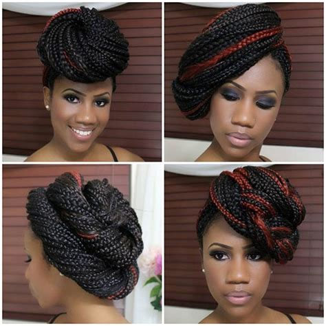 different styles to pack with kinkin braids 42 best big box braids styles with images beautified designs