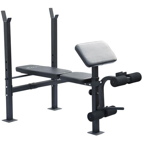 weight bench for free soozier incline flat exercise free weight bench w curl