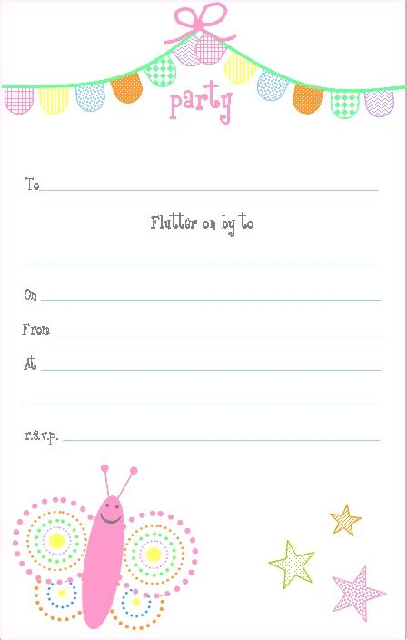 gingham cherry free printable pink butterfly party