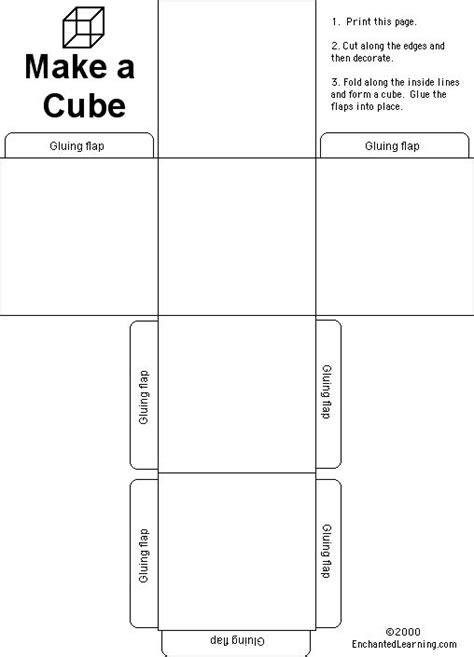 Cube Enchantedlearning - le catalogue d id 233 es