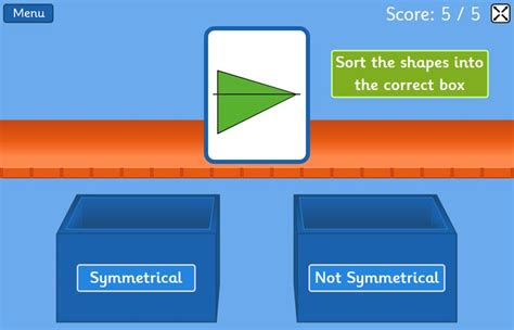 pattern shapes top marks 3d shape online game ks1 top marks 3d shape games ks1