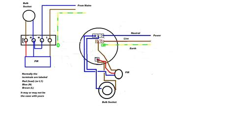 sensor lights outdoor wiring motion detector light diagram