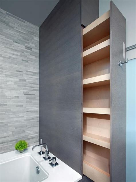 bathroom built in storage ideas best 25 clever bathroom storage ideas on