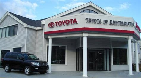Toyota Dealerships In Ma Toyota Of Dartmouth Dartmouth Ma 02747 Car