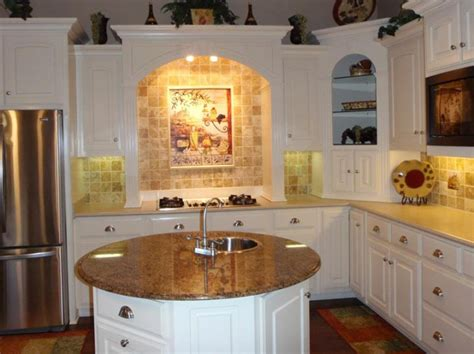 Tuscan Kitchen Island Kitchen Circle Kitchen Island White Sense Tuscan Kitchen Design Ideas With Oval Marble Table